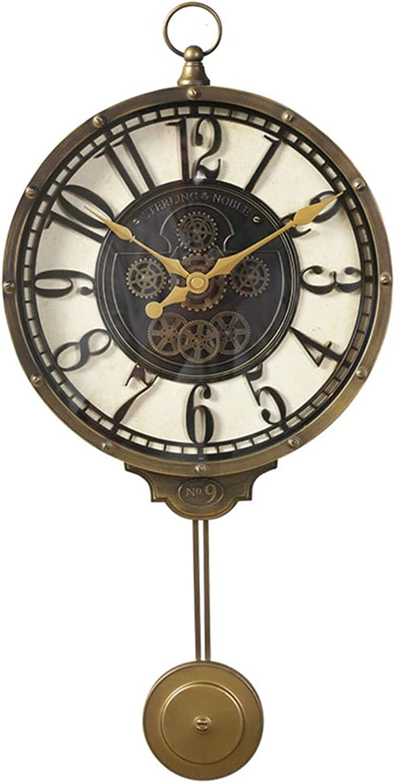 tienda de venta PENGJIE Reloj de Parojo Sala De Estar Reloj De De De Parojo Creativo Mesa Colgante Reloj Minimalista Europeo Sala De Estar Dormitorio Reloj Decorativo De Moda 57  27 Cm Reloj de Arte  mejor moda