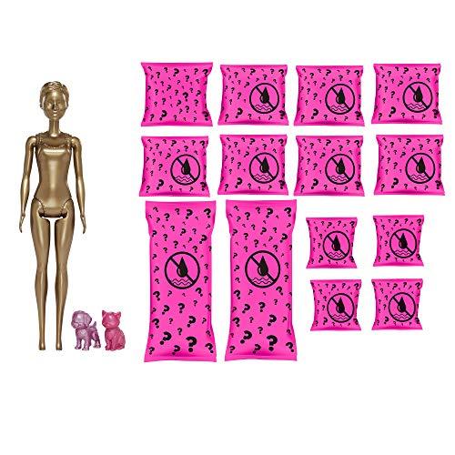 Barbie GPD57 - Color Reveal Ultimate Reveal Puppe Jahrmarkt und Konzert mit 25 Überraschungen und Tag-Nacht-Wechseloutfits