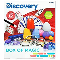 professional Discovery Box of Magic from Horizon Group USA, great scientific experiments, over 50 tricks …