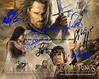 Return Of The King Autographed Preprint Signed Photo Rotk 1