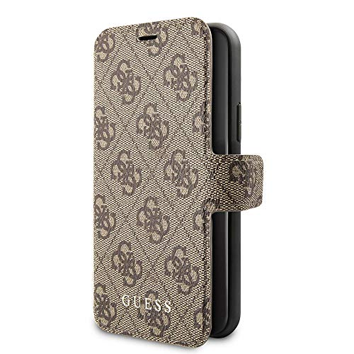Guess GUFLBKSN614GB 4G Collection Case for iPhone 11 Brown