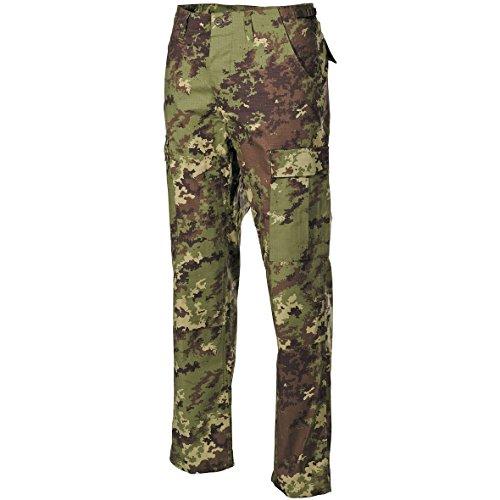 MFH BDU Combat Trousers Ripstop Vegetato Woodland Size XL