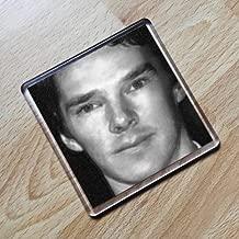 BENEDICT CUMBERBATCH - Original Art Coaster #js001