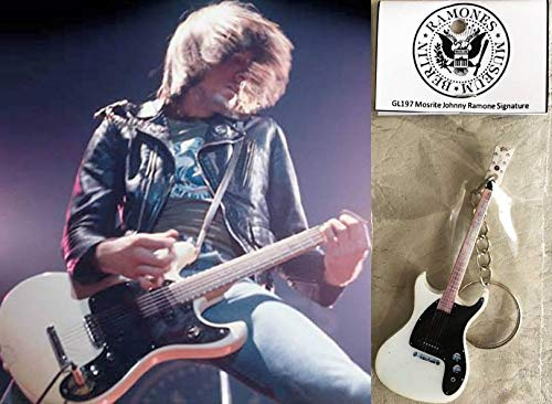 Keychain Gitarre Mosrite Johnny Ramone The Ramones