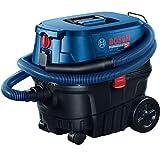 Bosch 060197C100, Professional Gas 12-25 PL Aspirapolvere a Umido e Secco con Presa di Corrente e...