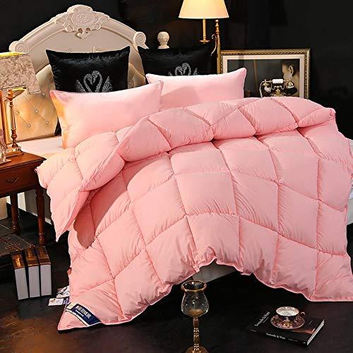 CHOU DAN Duvet 95 white goose down 8 kg quilt quilt 6 kg spring and autumn quilt 3 kg summer quilt thin quilt double single student 2 kg-200x230cm 4000g_Jade