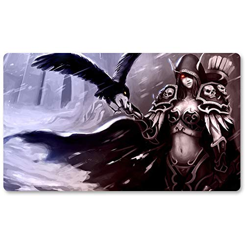 Warcraft79 – Brettspiel Warcraft Spielmatte Wow Tischmatte Spiele Tastatur Pad Größe 60 x 35 cm World of Warcraft Mauspad für Yugioh Pokemon MTG oder TCG