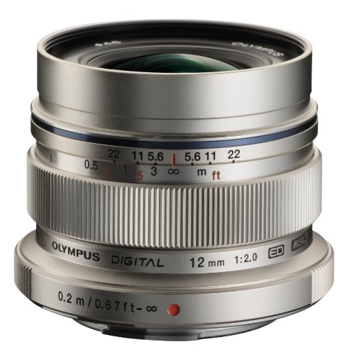 Olympus M.Zuiko Digital ED 12mm f2.0 Lens for...