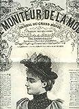 Le Moniteur de la Mode. Journal du Grand Monde. 16 fascicules de l'année 1893, 51ème année. N°2, 3, 5, 6, 7, 9, 11, 13, 14, 15, 16, 17, 18, 20, 22, 23