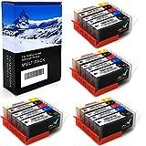 20 Office Channel24 Drucker Patronen kompatibel zu...