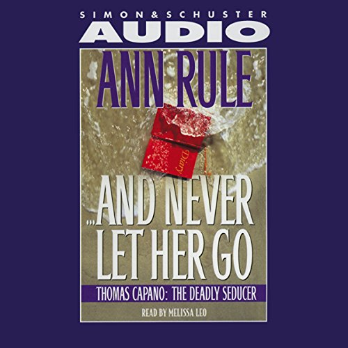 And Never Let Her Go audiobook cover art
