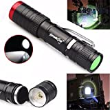 Skywolfeye Creazy 3500 Lumens 3 Modes CREE XML XPE LED Flashlight Torch Lamp Light Outdoor