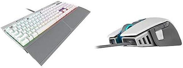CORSAIR K70 RGB MK.2 SE Mechanical RAPIDFIRE Gaming Keyboard - PBT Double-Shot Keycaps and CORSAIR M65 ELITE RGB - FPS Gam...