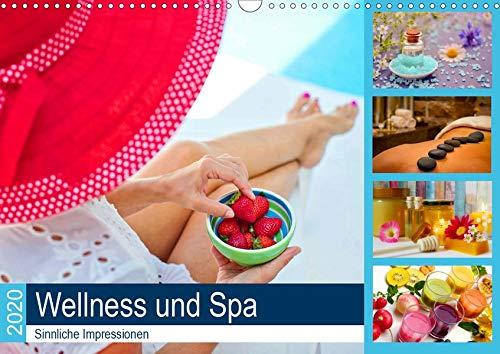 Wellness und Spa 2020. Sinnliche Impressionen (Wandkalender 2020 DIN A3 quer): Luxus pur: 12 sinnliche Impressionen aus dem Spa (Monatskalender, 14 Seiten ) (CALVENDO Gesundheit)