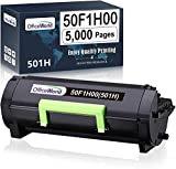 OfficeWorld Compatible Toner Cartridge Replacement for Lexmark 50F1H00 501H to use with Lexmark MS310d MS310dn MS312dn MS315dn MS410d MS410dn MS415dn MS510dn MS610dn (5,000 Pages High Yield, 1-Pack)