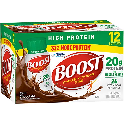 Boost High Protein Ready To Drink Shake - Rich Chocolate - 8oz/12ct