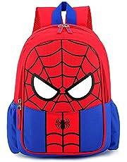 Zaino Spiderman ,Zaino supereroi,Zaino per Bambini Zaino per Studenti Zaino Regolabile per Libro di Scuola Materna