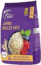 Oateo Rolled Oats 1 Kg - Jumbo Whole Grain Oats