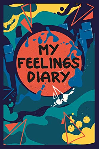 My Feelings Diary: Feelings Journal for Girls - Help Your Child Express Their Emotions Through Writing, Drawing, and Sharing - Reduce Anxiety, Anger ... - Cute Cat Cover Design (My Feelings Journal)