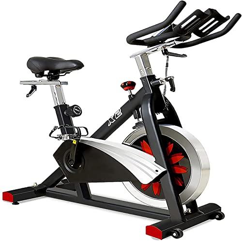 Esercizio Bike Bicchiere Drive Interno Ciclismo Bike Regolabile Bicycle Bicycle Gym Gym Bike per Allenamento Bici Cardio con Display LCD e Cuscino di Seduta