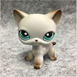 Littlest Pet Shop Orignial Egyptian Gray Shorthair Cat LPS#391