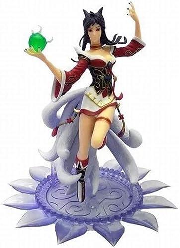 tienda en linea HTDZDX League of Legends LOL Juego Modelo de de de Personaje de Anime Nueve Cola Estatua de Fox Juguete Recuerdo Colección de Regalos Artesanía Adornos 22 CM  seguro de calidad