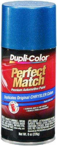 Dupli-Color BCC0422 Intense Blue E7 Pearl Chrysler Perfect Match Automotive Paint - Aerosol, 8. Fluid_Ounces, Single