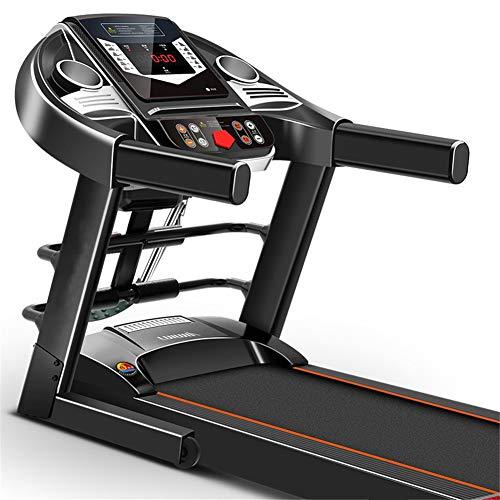 Intelligente Tappeto Da Corsa Elettrico Con Schermo LCD Velocità Regolabile Tapis Roulant Portatile Pieghevole Running Machine Può Riprodurre Musica Per Casa Ufficio Etc140x105x61cm(55x41x24inch)