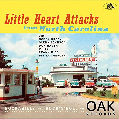 Various Artists: Little Heart Attacks From North Carolina: Rockabilly And Rock 'n' Roll On Oak Records (Various Artists) [Vinyl LP] (Audio CD (Limited Edition))