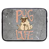 Xxh 13Inch/15 Inch Laptop Sleeve Case Pug Life Neoprene Cover Bag Compatible MacBook Air/Pro