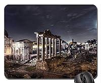月明かりの下でローマの古代遺跡Mouse Pad、Mousepad(Ancient Mouse Pad)