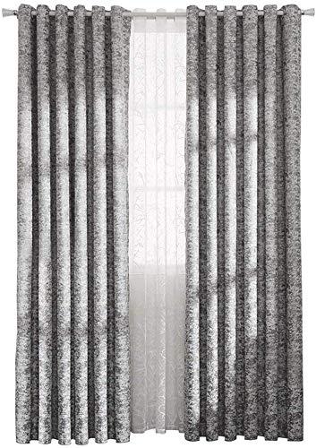 Gordijnen Nordic minimalistische stijl dubbelzijdige chenille jacquard gordijnen verduistering woonkamer slaapkamer gordijnen werkkamer vloer tot aan het plafond raamgordijn (grootte: breedte 400 hoogte 270 cm (gordijn)) Width 150*height 270cm (curtain) 4