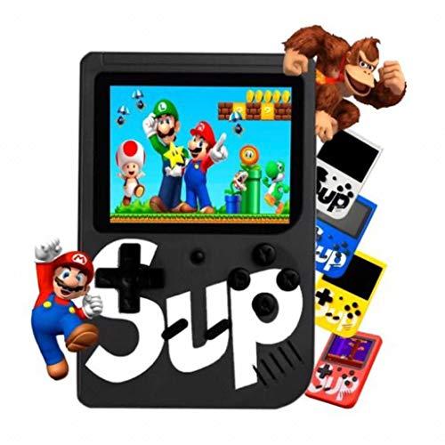 Sup Game Box Console Portatile Videogioco 8 Bit 400 Giochi Schermo Colori Retro' Nostalgic (Nero)