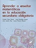 Aprender a enseñar matemáticas en la educación secundaria...