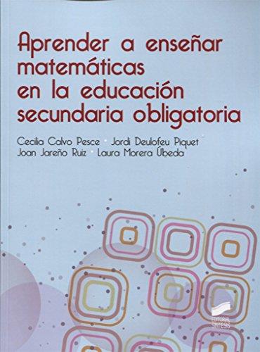 Aprender a enseñar matemáticas en la educación secundaria obligatoria - 9788490774205: 53