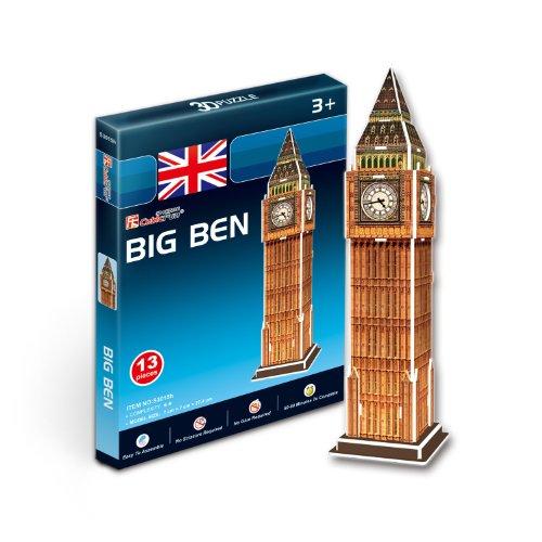 CubicFun Puzzle 3D Big Ben Tachan S3015h