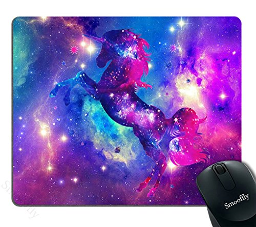Best Mouse Pad Galaxy Unicorn Customized Rectangle Non-Slip Rubber Mousepad Gaming Mouse Pad Smooffly