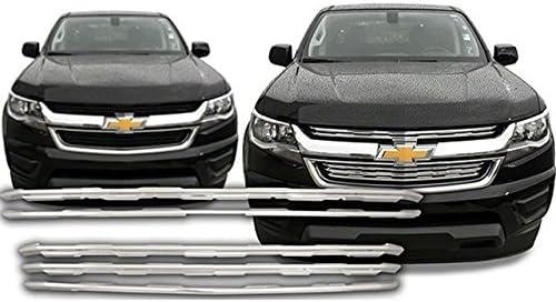 QAA fits 2015-2020 Chevrolet Colorado Plated ABS Washington Max 74% OFF Mall Piece 2 Chrome