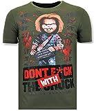 Camiseta de Chucky   Muñeco diabólico estampada La tostadora