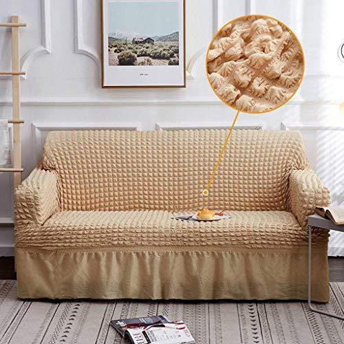 TIKNPOL Elastische bankovertrek met armleuningen voor bankprotector meubels Nordico doek