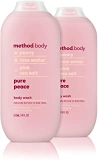 Method Body Wash, Pure Peace, 18 Fl Oz (Pack of 2)