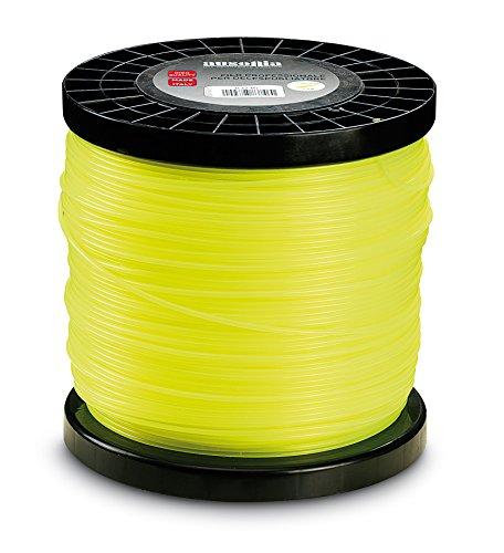 AUSONIA - 83746 Bobina de Hilo para cortabordes Redondo Amarillo 3,0 mm...