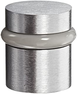 Satin Chrome Plated Finish Rockwood 480.26D Brass Door Stop 1-5//8 Height 12 x 1-1//4 FH WS Fastener with Plastic Anchor 2-1//2 Base Width x 1-3//4 Base Length
