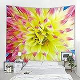 Tapiz decorativo floral de flores nórdicas tapices de pared hippie bohemio tapiz de Mandala Art Deco tapices de pared A2 180x200cm