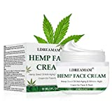 Hemp Cream, Face moisturizer Cream, Anti-Wrinkle And Fine Lines, Anti-Aging Hemp Oil Day Face And Neck Cream, Collagen Boosting, Relieves Inflammation