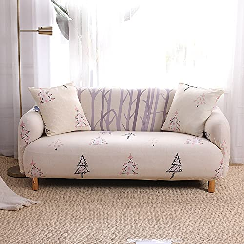 WXQY Sala de Estar, Funda de sofá, Funda de sofá para Muebles, Funda de combinación Universal, Funda de sofá de Esquina en Forma de L, Funda de sofá A18 1 Plaza