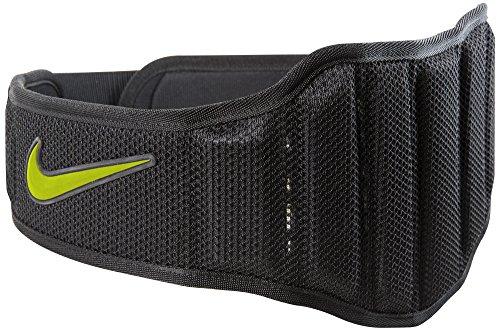 Nike Structured Training Belt 2.0, Size Medium, Black/Volt