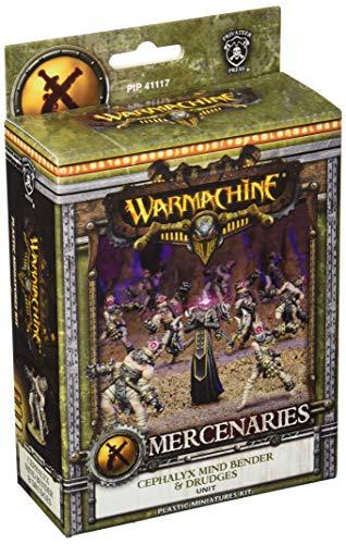 Warmachine Mercenaries: Cephalyx Mind Bender & Drudges (10) (plastic)