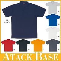 半袖ポロシャツ カラー:ブラック/11 サイズ:4L