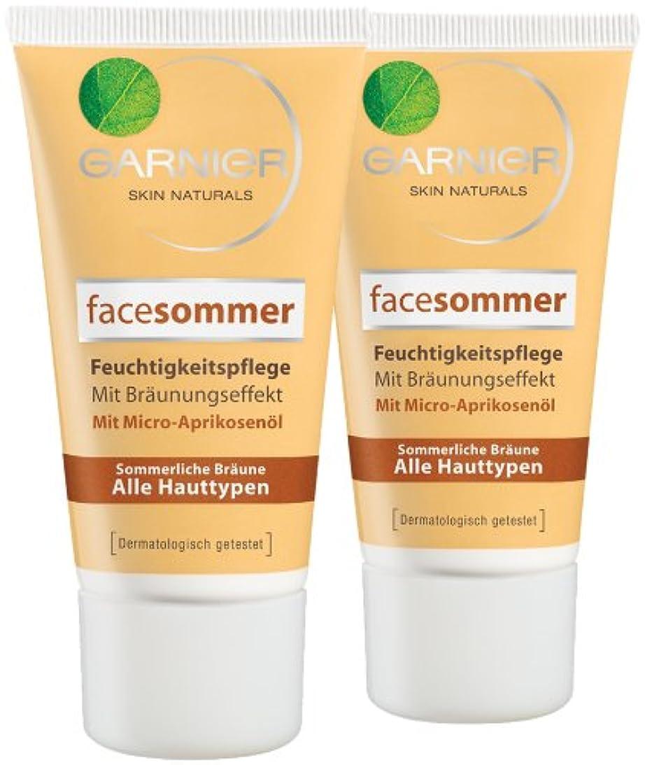 九月雄弁家出演者Garnier Face Sommer Feuchtigkeitspflege, 50 ml, 2er Pack (2 x 50 ml)